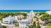 Ausblick vom Hotel Maria Isabel auf die Playa de Palma