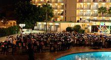 Palma Bay Club bei Nacht