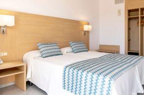 Das Hotel Riutort ist ein beliebtes Hotel in El Arenal für preisbewusste Gruppenurlauber