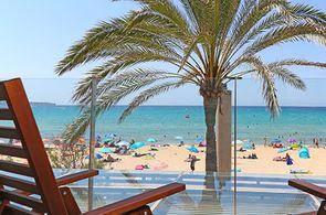 Blick auf die Promenade der Playa de Palma