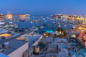 Das Fischerdorf Marsaxlokk ist ein bei Gruppen beliebtes Ausflugsziel auf Malta