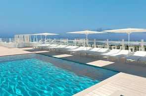 Auch das Hotel Indico Rock an der Playa de Palma ist für Gruppenreisen nach Mallorca für das Jahr 2021 buchbar.