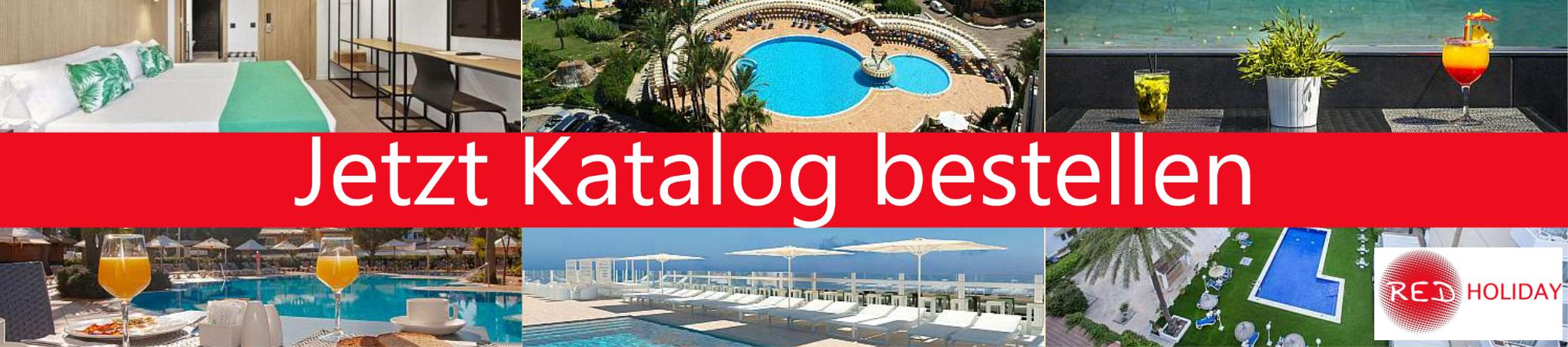 """Bestellen Sie unseren Katalog """"Gruppenreisen Mallorca"""""""