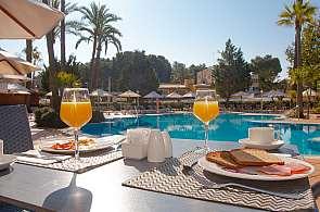 Frühstück im Hotel Valentin Reina Paguera