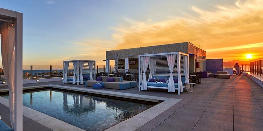 Skybar des Hotels Indico Rock